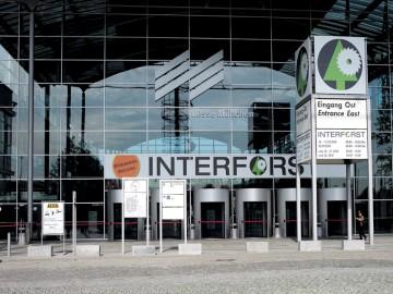 Eingang der INTERFORST